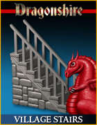 DRAGONLOCK: Dragonshire Village Stairs