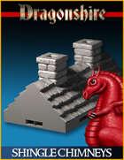 DRAGONLOCK: Dragonshire Shingle Roof Chimneys