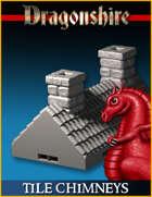 DRAGONLOCK: Dragonshire Tile Roof Chimneys