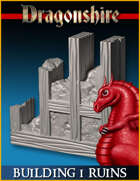 DRAGONLOCK: Dragonshire Building Ruins 1