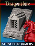 DRAGONLOCK: Dragonshire Shingle Roof Dormers