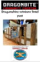 Window lintel post