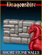 DRAGONLOCK: Dragonshire Short Stone Walls