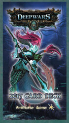 DeepWars - Game Card Full Deck - Tarot Sized