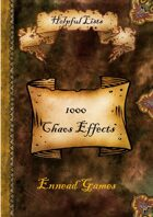 1000 Chaos Effects