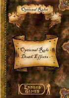 Optional Rules - Death Effects