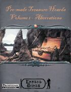 [PFRPG] Treasure Hoards - Volume 1 - Aberrations