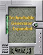 Technobabble Generator - Expanded