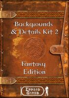 Background & Details Kit 2 - Fantasy Edition