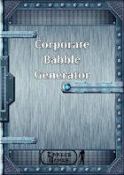 Corporate Babble Generator