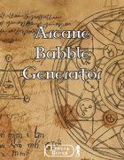 Arcane Babble Generator