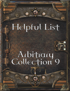 Helpful List Arbitrary Collection 9