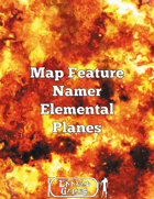 Map Feature Namer Elemental Planes