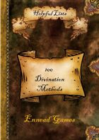 100 Divination Methods