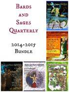 Bards and Sages Quarterly (2014-2015 Bundle)