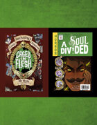 A SOUL DIVIDED/ CAGED IN FLESH: A Jekyll & Hyde Comic Anthology