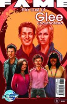 FAME The Cast of Glee unauthorized #1