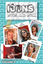 Orbit: Icons of Rock and Roll: Metallica, Motley Crüe, Ozzy and George Harrison: Volume 3