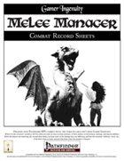 Melee Manager (PFRPG)