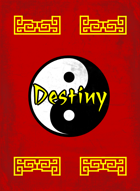 Art of Wuxia: Destiny Deck