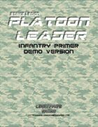 Strike Legion: Platoon Leader Infantry Primer