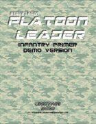 Strike Legion: Platoon Leader Infantry Primer