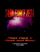 Task Force Zeta: Flesh and Steel Data Card Set