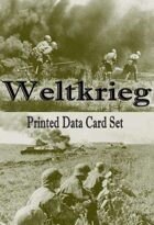 Weltkrieg Printed Data Card Set