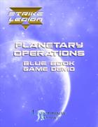 Strike Legion Planetary Operations 'Blue Book'  Demo Version