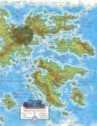 Murphy's World Map - Eastern Hemisphere
