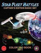 Star Fleet Battles: Basic Set SSD Book 2011 (Color)