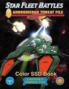Star Fleet Battles: Module C3A - The Andromedan Threat File SSD Book (Color)