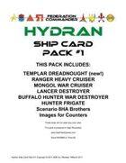 Federation Commander: Hydran Ship Card Pack #1