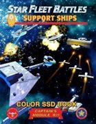 Star Fleet Battles: Module R11 - Support Ships SSD Book (Color)