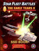 Star Fleet Battles: Module Y2 - The Early Years II SSD Book (B&W)