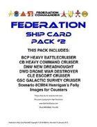 Federation Commander: Federation Ship Card Pack #2