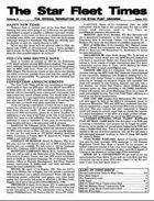 Star Fleet Times #11-#15