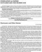 Federation & Empire: The Hurricane