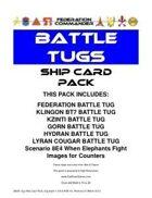Federation Commander: Battle Tug Ship Card Pack