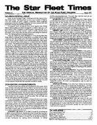 Star Fleet Times #31-#35