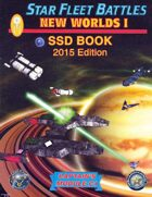 Star Fleet Battles: Module C1 - New Worlds I SSD Book (B&W) 2015