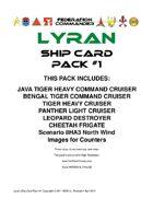 Federation Commander: Lyran Ship Card Pack #1