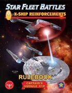 Star Fleet Battles: Module X1R - X-Ship Reinforcements Rulebook