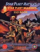 Star Fleet Battles: Module M - Star Fleet Marines SSD Book (B&W)