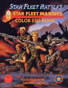 Star Fleet Battles: Module M - Star Fleet Marines SSD Book (Color)