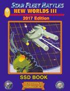 Star Fleet Battles: Module C3 - New Worlds III SSD Book (B&W) 2017