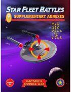 Star Fleet Battles: Module G3A - Supplementary Annexes