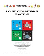 Federation Commander: Lost Counters Pack #1