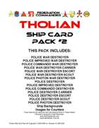 Federation Commander: Tholian Ship Card Pack #2