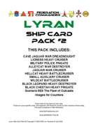 Federation Commander: Lyran Ship Card Pack #2